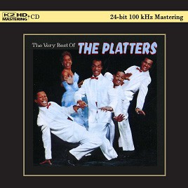 The Platters The Very Best Of The Platters K2 Hd Cd Cd
