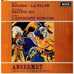 Ernest Ansermet - Ravel: Bolero/ La Valse/ Honegger: Pacific 231