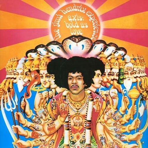 The Jimi Hendrix Experience Axis - Bold As Love