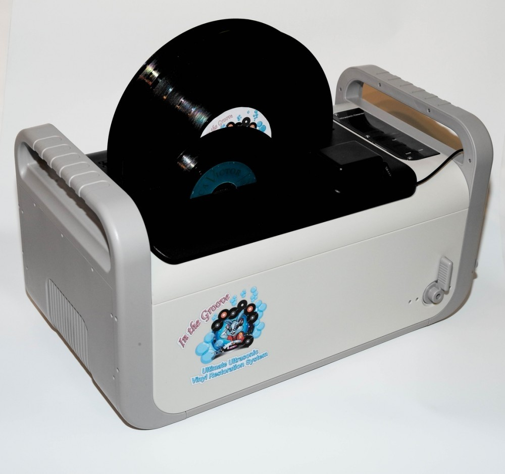 KIRMUSS - Ultrasonic Record restoration and cleaning machine (KA RC1)