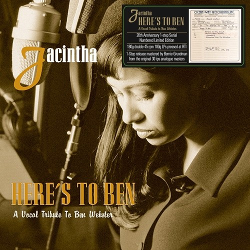 Jacintha - Here's To Ben - A Vocal Tribute To Ben Webster One-Step