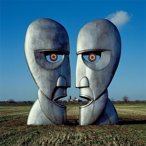 Pink Floyd - The Division Bell  (25th Anniversary Limited Edition on Translucent Blue Colored Vinyl)