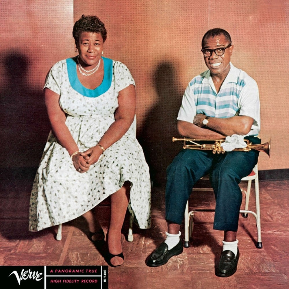 Ella Fitzgerald and Louis Armstrong - Ella and Louis  (Mono)