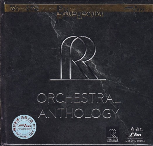 Reference Recording Orchestral Anthology