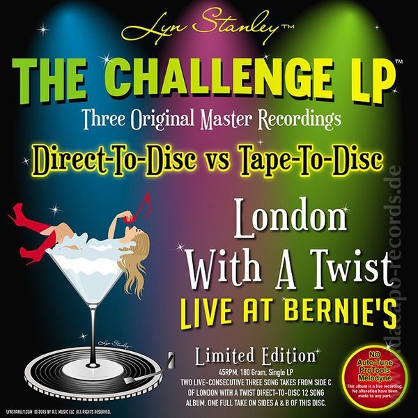 Lyn Stanley London With A Twist - Live At Bernie's - The Challenge
