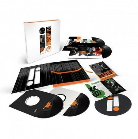Impulse Records: Music, Message And The Moment  (60th Anniversary Edition 4 LP Box Set + Booklet + Vinyl Slip Mat)