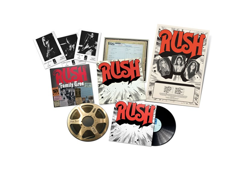 Rush - Rediscovered LP Box Set