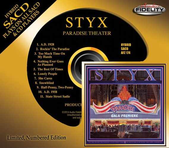 Styx - Paradise Theater