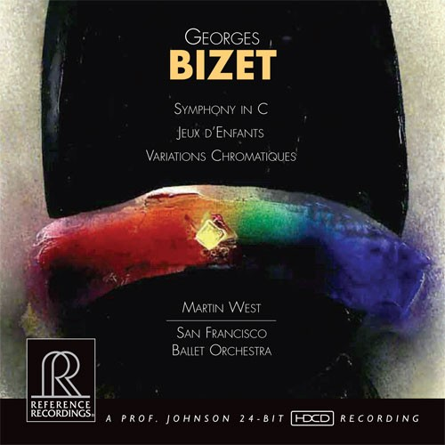 Martin West - Bizet: Symphony In C/ Jeaux D' Enfants/ Variations Chromatiques