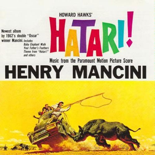 Henry Mancini - Hatari! / Music from the Paramount Motion Picture Score