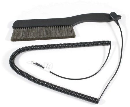 """AcousTech - The Big Record Brush with Grounding Cord 5.5"""""""