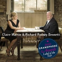 Claire Martin & Richard Rodney Bennett - Witchcraft : Songs of Cy Coleman