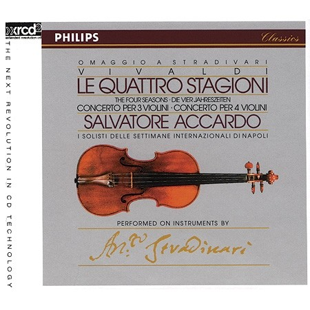 Salvatore Accardo - The Four Seasons (Le Quattro Stagioni)