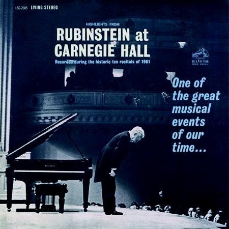 Arthur Rubinstein - Highlights From Rubinstein at Carnegie Hall