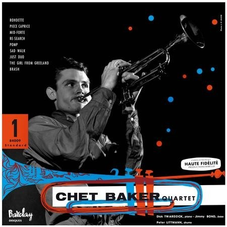 Chet Baker - Featuring Dick Twardzick Recorded In Paris