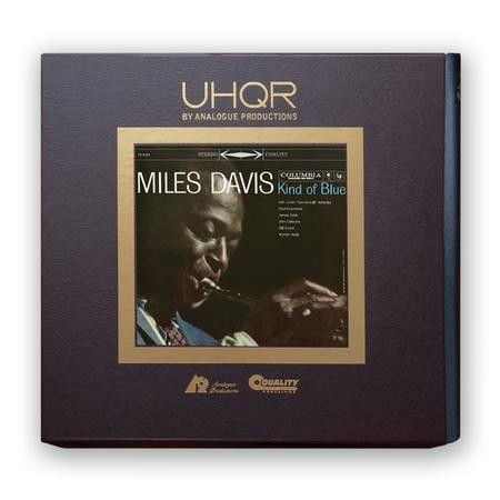 Miles Davis - Kind of Blue  (33 1/3 RPM Clarity Vinyl)