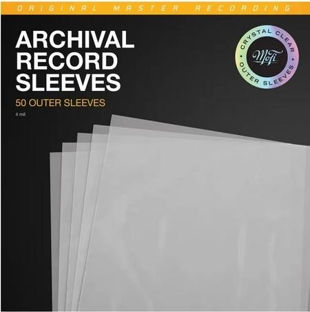Mobile Fidelity - CLEAR Record Outer Sleeves