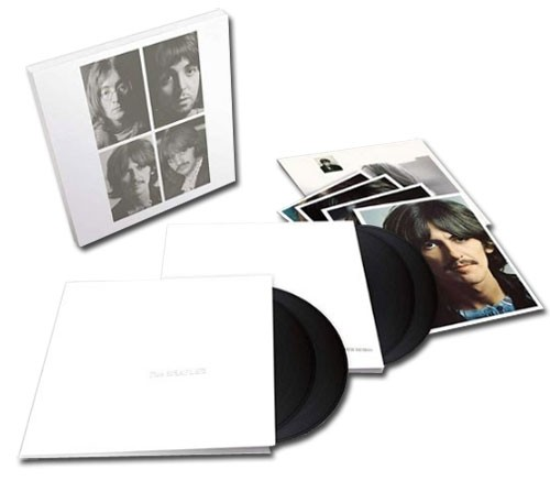 The Beatles - The White Album  (Deluxe Anniversary Edition 4 LPs Housed in a 2 Piece Lift Off Lid Box )