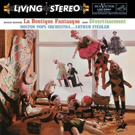 Arthur Fiedler, Boston Pops Orchestra - Rossini-Respighi: La Boutique Fantasque & Ibert: Divertissement