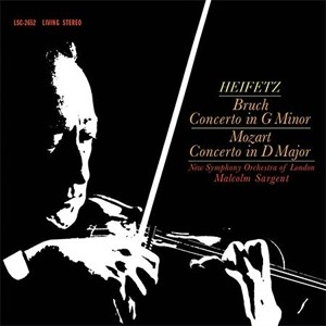 Heifetz-Sargent - Bruch: Concerto in G Minor/Mozart: Concerto in D Major