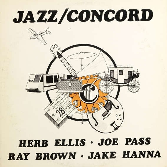 Jazz/Concord -  Ray Brown / Herb Ellis / Jake Hanna / Joe Pass