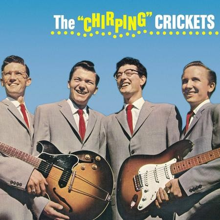 The Crickets/Buddy Holly - The Chirping Crickets  (Mono)