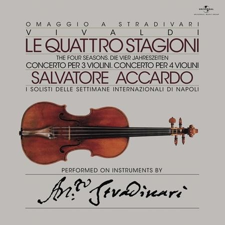 Salvatore Accardo The Four Seasons (Le Quattro Stagioni)