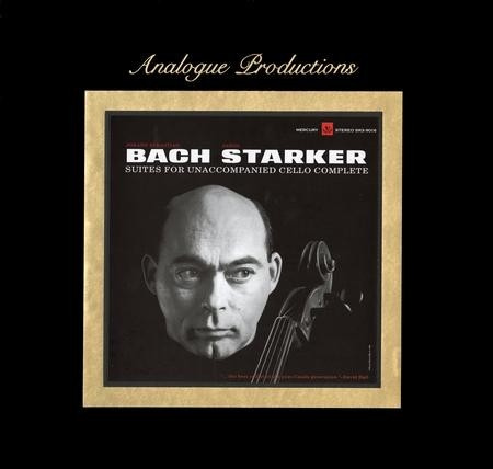 Janos Starker - Bach: Suites For Unaccompanied Cello Complete  (45 RPM 200 Gram 6 LP Box Set)
