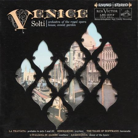 Georg Solti - Venice  (Royal Opera House Orchestra)