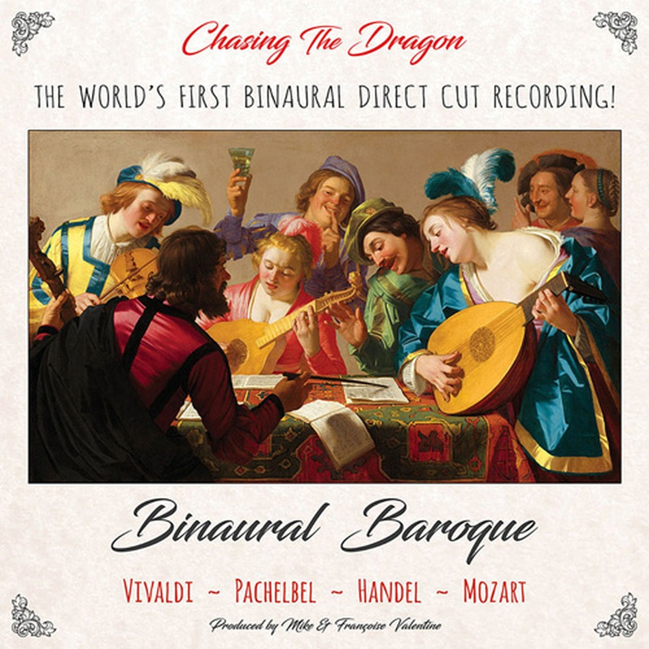 Morgan Szymanski - Binaural Baroque / World's Finest Binaural Direct Cut Recording