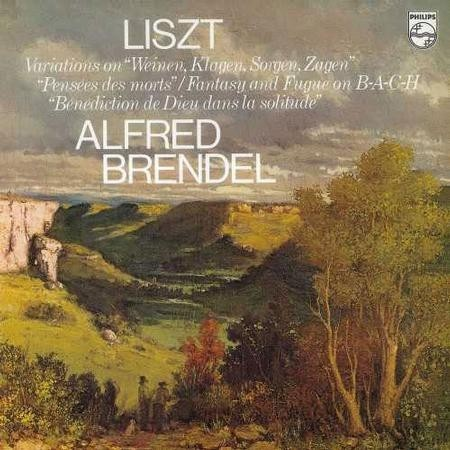 Alfred Brendel - Liszt: Fantasia And Fugue On Bach