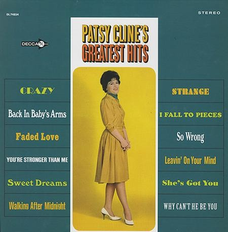 Patsy Cline - Greatest Hits