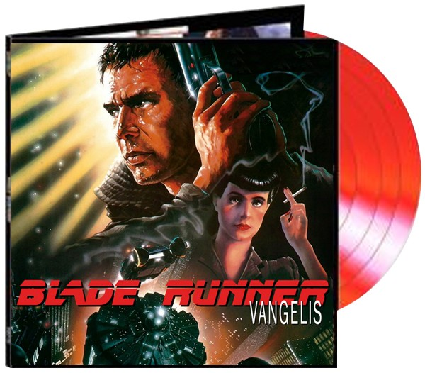 Vangelis - Blade Runner Soundtrack  Limited - Transparent Red Vinyl