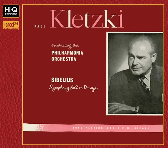 Paul Kletzki with the Philharmonia Orchestra - Sibelius' Symphony No. 2 in D Major