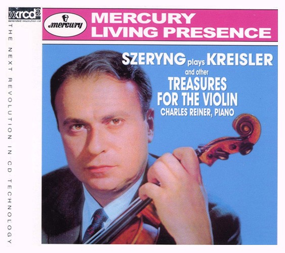 Henryk Szerying Szeryng - Plays Kreisler And Other Treasures For The Violin