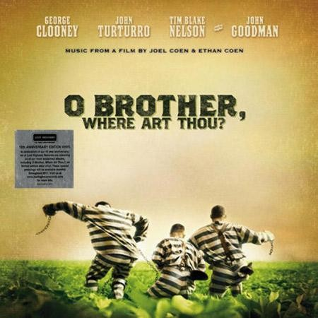 Original Motion Picture Soundtrack - O Brother, Where Art Thou?  Limited Edition Clear Vinyl