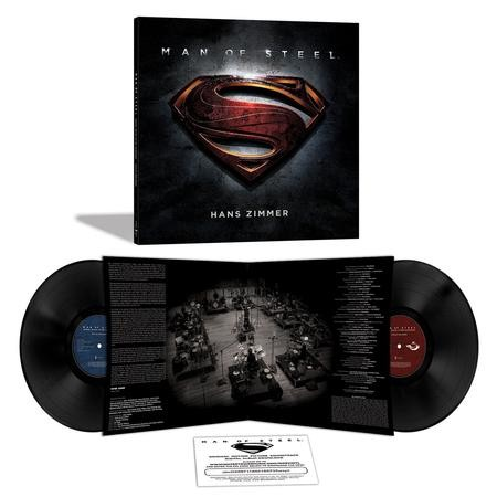 Hans Zimmer - Man Of Steel Soundtrack  Limited Edition + Download