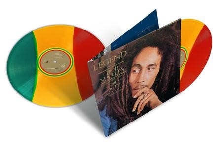 Bob Marley and The Wailers - Legend 30th Anniversary Edition Colored Vinyl