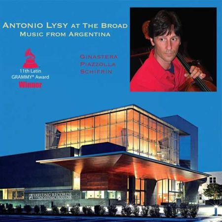 Antonio Lysy - At The Broad-Music From Argentina
