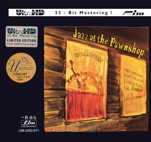 Jazz at the Pawnshop - Vol I, Vol II & Vol III plus 1 DVD