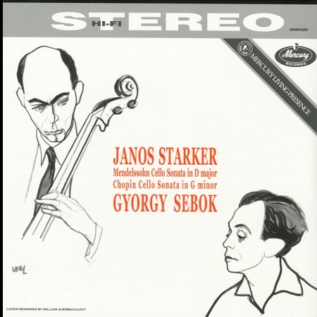 Janos Starker and Gyorgy Sebok - Mendelssohn & Chopin: Cello Sonatas