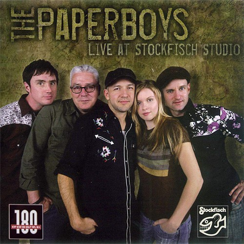 The Paperboys - Live At Stockfisch Studio