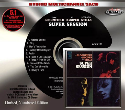 Mike Bloomfield, Al Kooper & Stephen Stills - Super Session