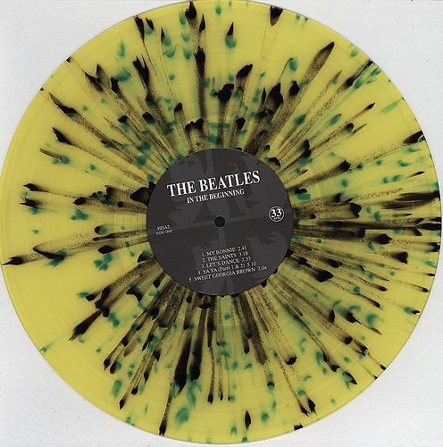 "The Beatles - In The Beginning  (Rare Limited Splatter Vinyl 12"" LP)"