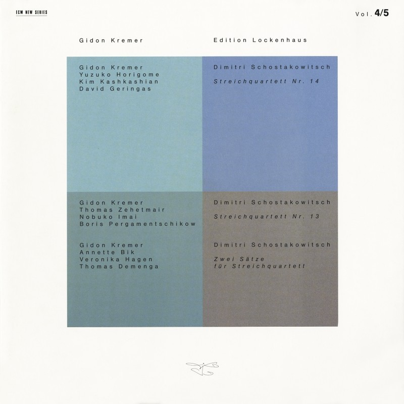 Gidon Kremer - Edition Lockenhaus, Vol.4 & 5