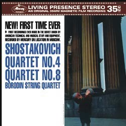 The Borodin String Quartet - Shostakovich: No. 4 and No. 8