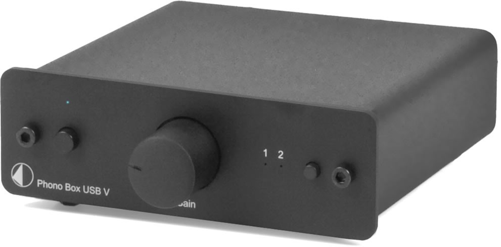 Project - Phono Box USB V Phono Preamplifier