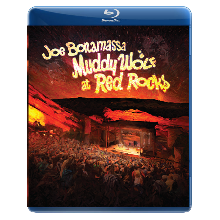 Joe Bonamassa - Muddy Wolf at Red Rocks Bluray