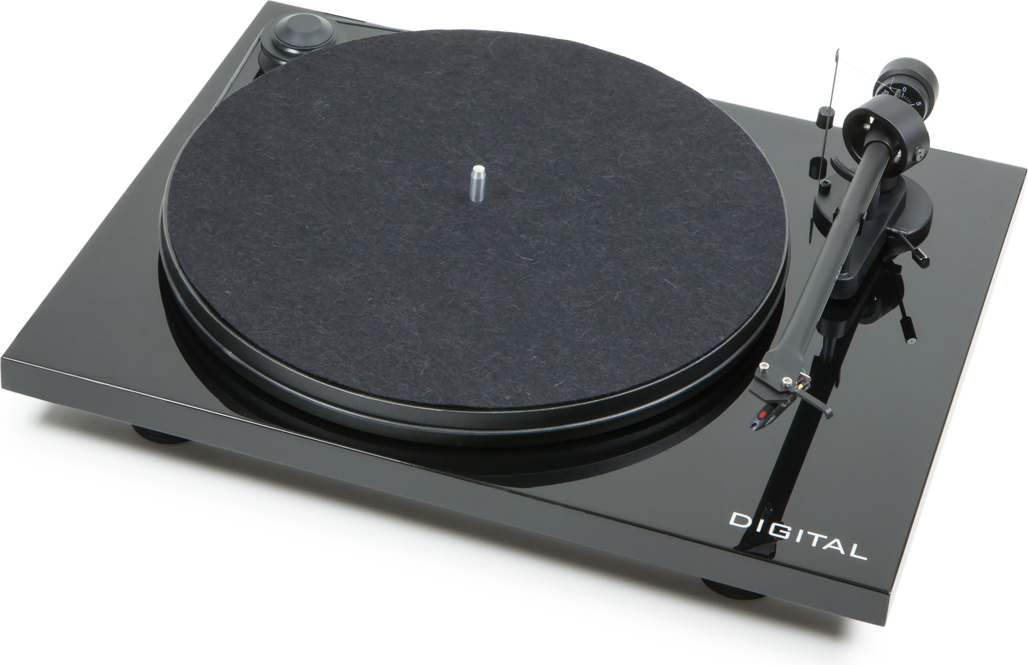 Pro-Ject Essential II - Digital Turntable with Ortofon OM5e Cartridge