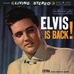 ELVIS PRESLEY - ELVIS IS BACK (45rpm)